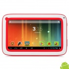 "Softwinern01 Android 4.2 3G Tablet PC w/ 7.0"" TFT, Wi-Fi, TF, 512MB RAM and 2GB ROM - White + Red"