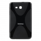 sunshine ''X'' Shaped Anti-skid TPU Back Case + Screen Protector for Samsung Galaxy Tab 3 Lite T110