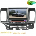 "LsqSTAR 8"" 2-DIN Android Capacitive Car DVD Player w/ GPS, RDS, BT, Wi-Fi for Mitsubish Lancer"