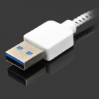 IKKI USB 3.0 Male to Micro 9-Pin Male Charging Data Cable for Samsung Galaxy Note Pro P900 - White