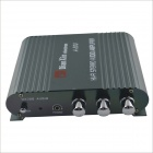 A-200 Hi-Fi Stereo Audio Amplifier for Car / Motorcycle - Black