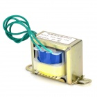 EI Shape 3W 220V to 9V Power Transformer - Golden + Blue + Yellow