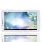 "PORTWORLD N966 7"" Dual Core Android 4.2.2 Dual Standby 2G Phone Tablet PC w/ 1GB RAM, 4GB ROM -White"