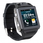 "IK 1.55"" Touch Screen Dual-Core Android 4.0 Wearable Smart Phone Watch w/ 5.0 MP Camera / Wi-Fi"