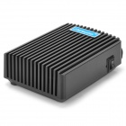 JM MAXPRO M6 Lightweight USB Powered 1-Fan Cooling Radiator for Laptops - Black + Light Blue