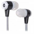 Soul High Quality Stereo In-ear Earphone for IPHONE / IPAD / IPOD - Black + White (116cm)