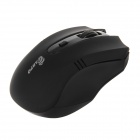 CARPO F-16 2.4GHz 1600DPI Wireless Optical Mouse with USB Receiver - Black