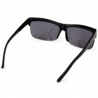Big Square Frame Sunglasses with Resin Lens for Men