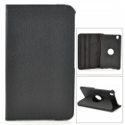 Protective Flip-open Stand Case w/ Screen Protector for Samsung Galaxy Tab Pro 8.4 T320 - Black
