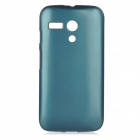 PUDINI WB-MOTOGN Protective PC Back Case for MOTO G - Greenish Blue