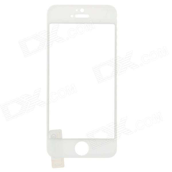 Mobile Phone Tempered Glass Screen Protector for IPHONE 5 / 5S - White benks magic kr pro 0 15mm 3d curved tempered glass screen protector for iphone 6s plus 6 plus full cover white