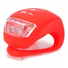 GT Coupe TBP24Q Bluetooth V3.0 Cellphone Flashing Light for Motorcycle / Bicycle - Red