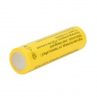 FANDYFIRE 3.7V 2000mAh Rechargeable 18650 Li-ion Batteries - Yellow (2 PCS)