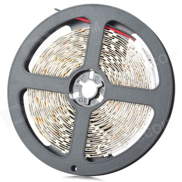 ZDM ZDM-3528-60DY33 48W 88lm 300-3528 SMD LED Yellow Light LED Strip (DC12V / 5M) zdm 5m 300 leds strip light with remote control