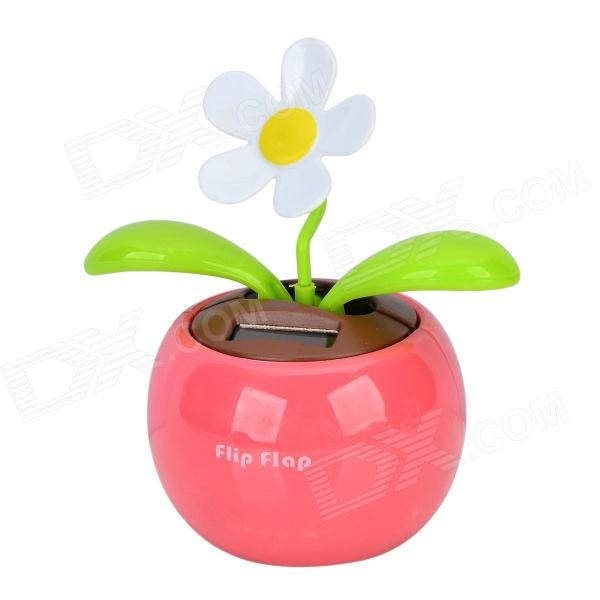 все цены на B1 Decorative Plastic Apple Planted Flower - Dark Pink + Green + Multicolored онлайн