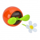 Decorative Plastic Apple Planted Flower - Orange + Green + Multicolored