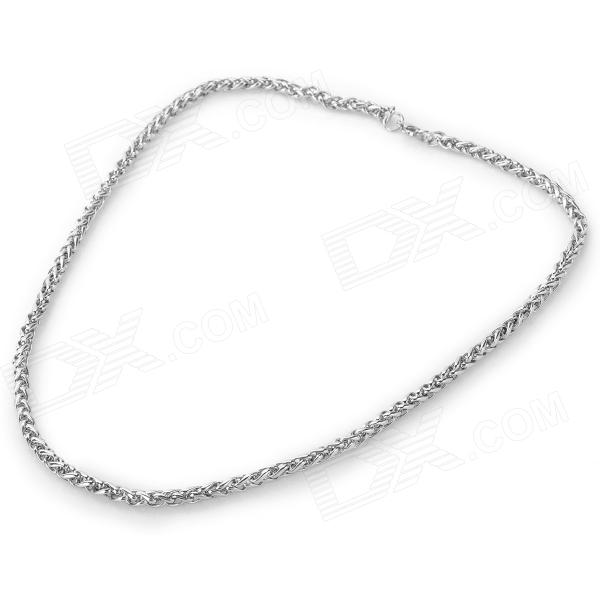 SHIYING BH-110111 316L Stainless Steel Necklace for Men - Silver fashion 316l stainless steel bracelet for man h023