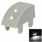 2W 2-SMD 3528 LED 8lm Cabinet Light (1.5V / 3 PCS)