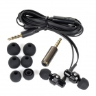 SENICC MX-154i 3.5mm Wired In-ear Style Earphone - Black + White + Multi-Colored