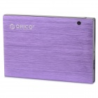 "ORICO 25AU3 USB 3.0 Hard Disk Drive Enclosure Case for 2.5"" SATA HDD / SSD - Purple (Max. 2TB)"