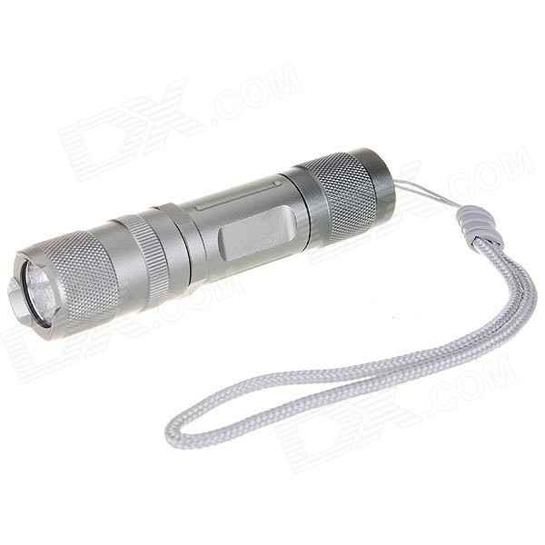 Uniquefire S10 220-Lumen LED Flashlight - Grey (1*AA/1*14500)