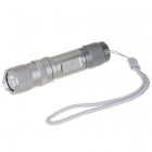 Uniquefire S10 Cree R2-WC 6-Mode 220-Lumen Memory LED Flashlight - Grey (1*AA/1*14500)