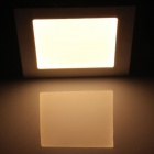 15W 1500lm 3000K 75-SMD 2835 LED Warm White Ultrathin Square Ceiling Light w/ Driver  (AC 85~265V)