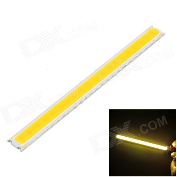 6W 450lm 3000K COB LED Warm White Light Source Module - Silver + Yellow (DC12~15V)