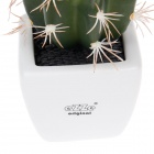 EZZE EZ-12-E Melon Cactus Deodorizing & Refreshing Activated Charcoal Diffuser - White + Green
