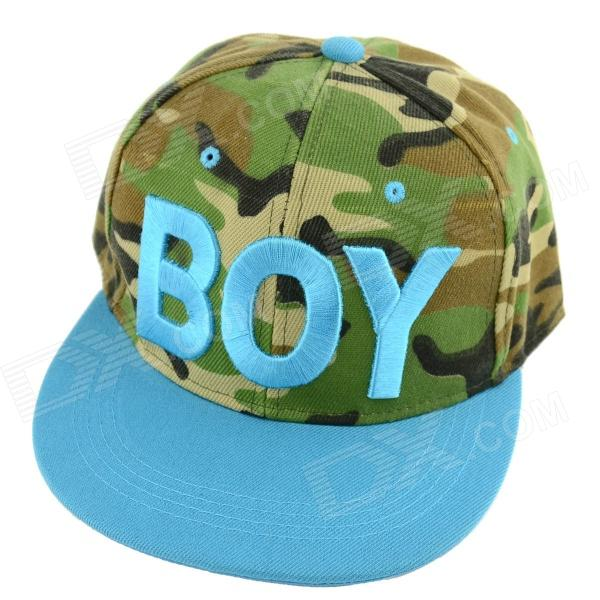 Simple BOY Letter Pattern Canvas Baseball Hat