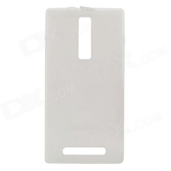 DOOGEE Protective TPU Back Case for TURBO DG2014 - White doogee turbo dg2014 replacement battery back cover case black