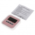 "HAPTIME YHG115 1.8"" LCD Countdown Timer - Pink + White"