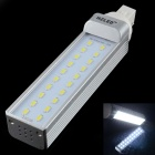 HZLED G24 10W 1000lm 20-SMD 5630 LED Cool White Bulb (AC85-265V)