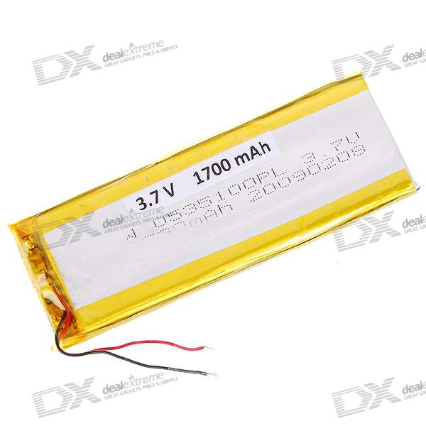 3.7V 1700mAh Replacement Battery Pack for Dingoo A-320