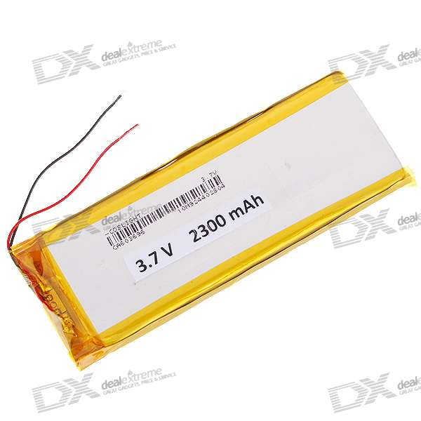 3.7V 2300mAh Replacement Battery Pack for Dingoo A-320
