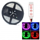 HML Waterproof 72W 300-SMD 5050 LED RGB Light LED Strip w/ 3-Key Mini RGB Controller (12V / 5m)