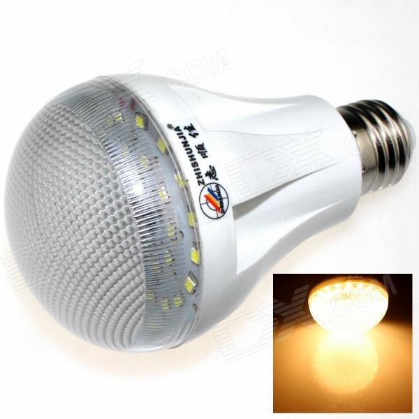 ZHISHUNJIA Microwave Radar Sensing E27 LED 7W Bulb 3000K Corridor Body Induction Iamp (85~265V)