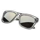 A07-930 Cool Resin Lens UV400 Protection Sunglasses - Black + Transparent