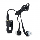 Bluedio EH Clip-on Bluetooth V4.0 Headset w/ Microphone - Black