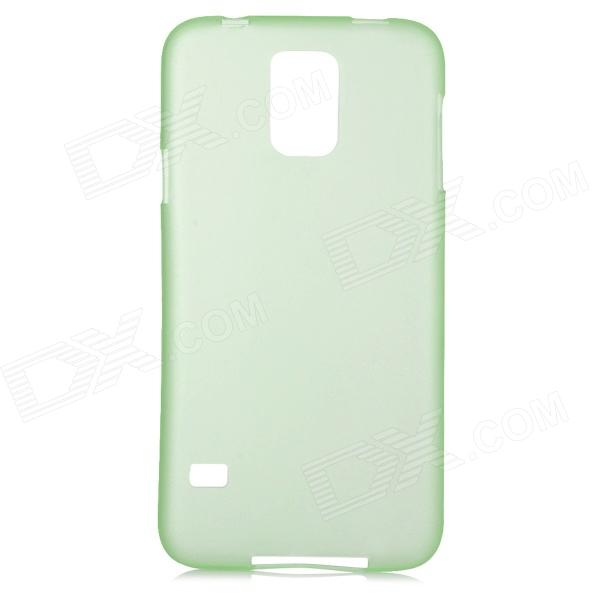 Protective 0.2mm Thin ABS Back Case for Samsung Galaxy S5 - Translucent Green