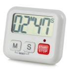 "CS-029 2"" Big Screen Digital Timer - White (1 x AAA)"