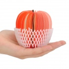 Unique Creative Apple Shaped Memo Pad - Small (About 150-Page)