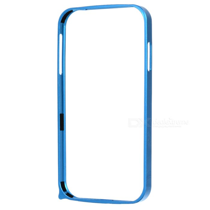 S4-Q Light Aluminum Alloy Bumper Frame Case for Samsung Galaxy S4 i9500 - Blue