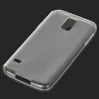 S-What 0.6mm Thin TPU Back Case for Samsung Galaxy S5 - Transparent