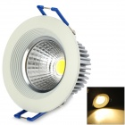 5W 400lm 3000K COB Warm White Ceiling Light / Spotlight (100~240V)