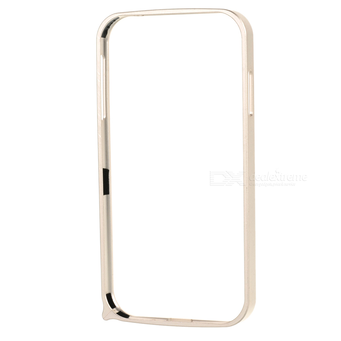 S4-Q Light Aluminum Alloy Bumper Frame Case for Samsung Galaxy S4 i9500 - Champagne Gold