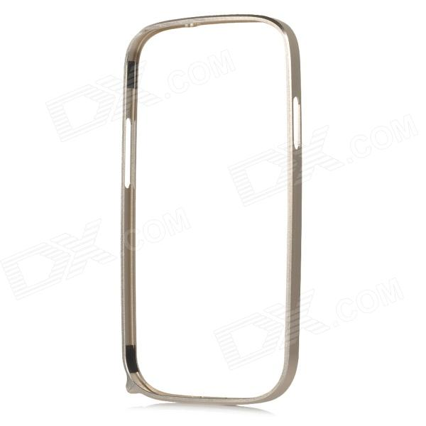 S3-AU Light Aluminum Alloy Bumper Frame Case for Samsung Galaxy S3 i9300 - Champagne Gold