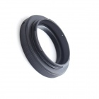T2 T Mount to Canon EOS EF EF-S Lens Adapter for 700D 60D 7D 5D3 1DS 1D T2-EOS - Black