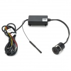 W-ONE IP66 Wireless Wi-Fi 300KP Car Rearview Camera System for Andriod - Black