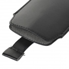 Protective PU Leather Pouch Bag Case for Samsung Galaxy S5 - Black